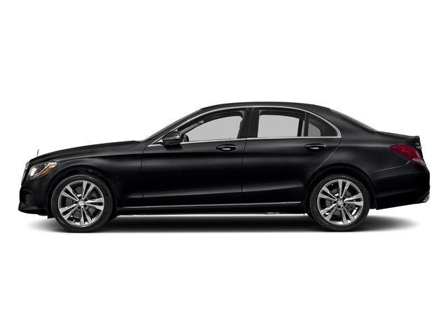 Black 2017 Mercedes-Benz C-Class Pictures C-Class Sedan 4D C300 AWD I4 Turbo photos side view