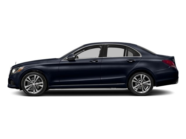 Lunar Blue Metallic 2017 Mercedes-Benz C-Class Pictures C-Class Sedan 4D C300 AWD I4 Turbo photos side view