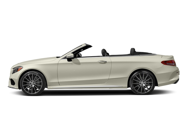 Polar White 2017 Mercedes-Benz C-Class Pictures C-Class Convertible 2D C300 AWD I4 Turbo photos side view