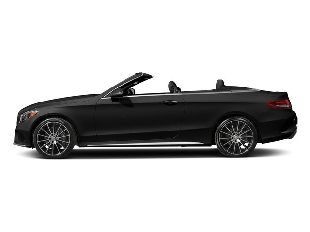 Obsidian Black Metallic 2017 Mercedes-Benz C-Class Pictures C-Class Convertible 2D C300 AWD I4 Turbo photos side view