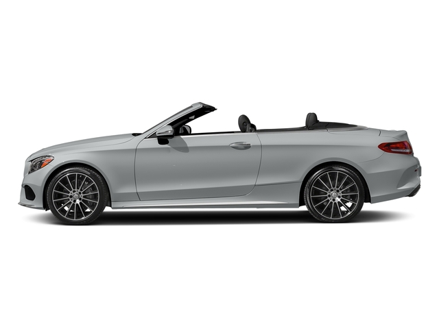 Iridium Silver Metallic 2017 Mercedes-Benz C-Class Pictures C-Class Convertible 2D C300 AWD I4 Turbo photos side view