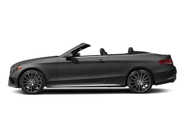 Selenite Grey Metallic 2017 Mercedes-Benz C-Class Pictures C-Class Convertible 2D C300 AWD I4 Turbo photos side view