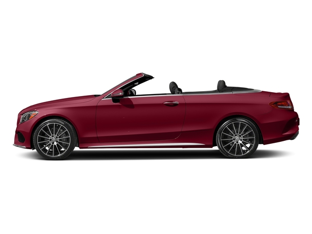 designo Cardinal Red Metallic 2017 Mercedes-Benz C-Class Pictures C-Class Convertible 2D C300 AWD I4 Turbo photos side view