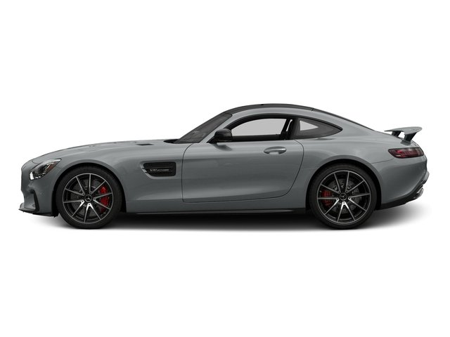 Iridium Silver Metallic 2017 Mercedes-Benz AMG GT Pictures AMG GT S 2 Door Coupe photos side view