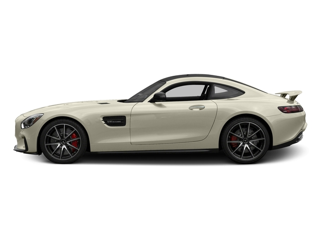Diamond White Metallic 2017 Mercedes-Benz AMG GT Pictures AMG GT S 2 Door Coupe photos side view