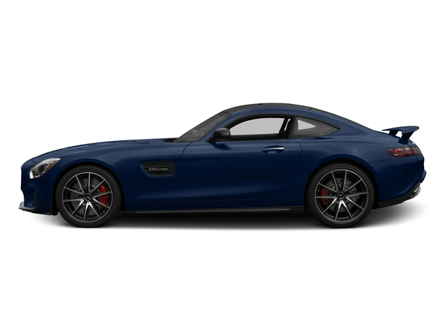 Brilliant Blue 2017 Mercedes-Benz AMG GT Pictures AMG GT S 2 Door Coupe photos side view