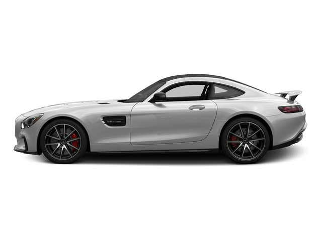 designo Magno Iridium Silver (Matte Finish) 2017 Mercedes-Benz AMG GT Pictures AMG GT S 2 Door Coupe photos side view