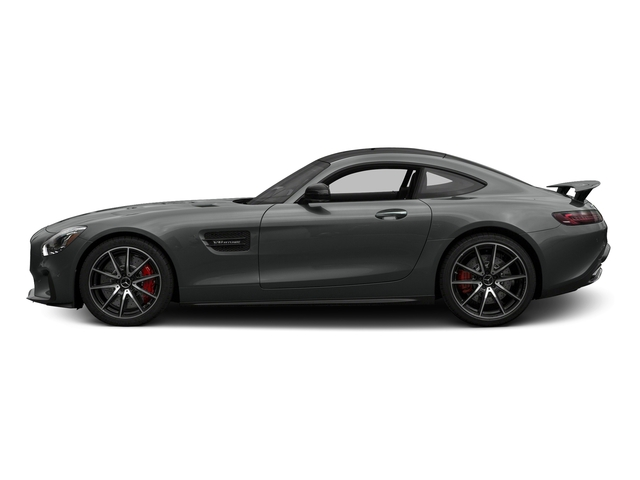 Selenite Grey 2017 Mercedes-Benz AMG GT Pictures AMG GT S 2 Door Coupe photos side view
