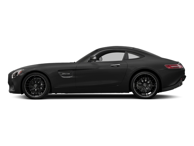 Magnetite Black Metallic 2017 Mercedes-Benz AMG GT Pictures AMG GT 2 Door Coupe photos side view