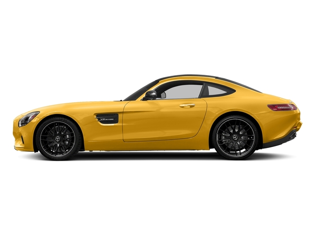 AMG Solarbeam Yellow 2017 Mercedes-Benz AMG GT Pictures AMG GT 2 Door Coupe photos side view