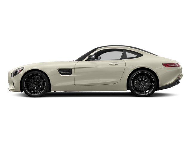 Diamond White Metallic 2017 Mercedes-Benz AMG GT Pictures AMG GT 2 Door Coupe photos side view