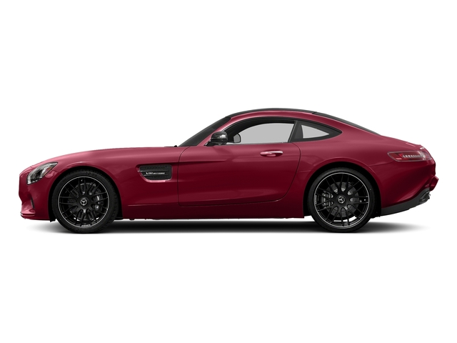 designo Cardinal Red Metallic 2017 Mercedes-Benz AMG GT Pictures AMG GT 2 Door Coupe photos side view