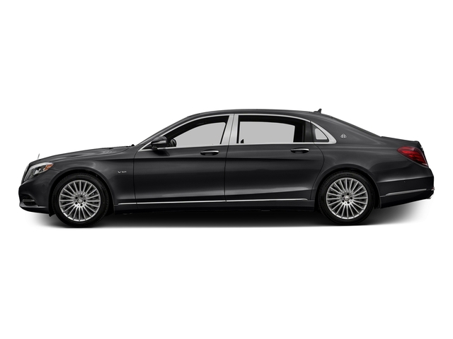 Black 2017 Mercedes-Benz S-Class Pictures S-Class Maybach S 600 Sedan photos side view
