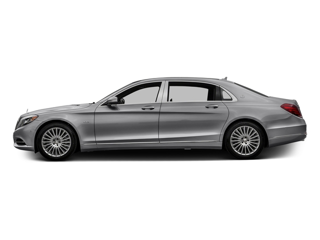 designo Magno Alanite Grey (Matte Finish) 2017 Mercedes-Benz S-Class Pictures S-Class Maybach S 600 Sedan photos side view