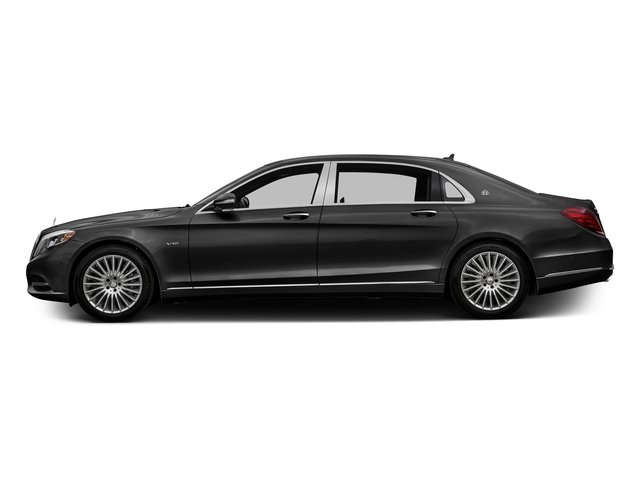 Magnetite Black Metallic 2017 Mercedes-Benz S-Class Pictures S-Class Maybach S 600 Sedan photos side view