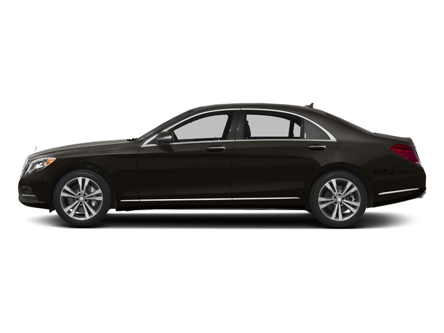 Verde Brook Metallic 2017 Mercedes-Benz S-Class Pictures S-Class Sedan 4D S550e V6 Turbo photos side view
