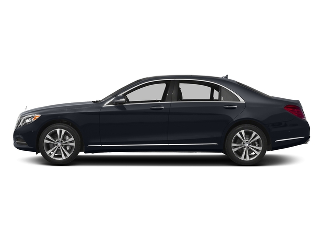 Anthracite Blue Metallic 2017 Mercedes-Benz S-Class Pictures S-Class Sedan 4D S550e V6 Turbo photos side view