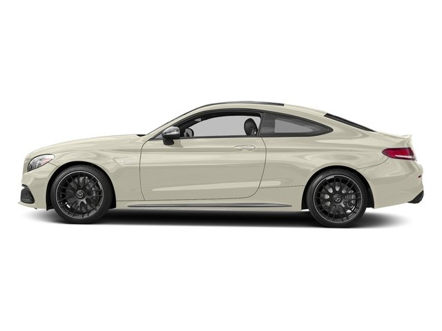 designo Diamond White Metallic 2017 Mercedes-Benz C-Class Pictures C-Class AMG C 63 Coupe photos side view