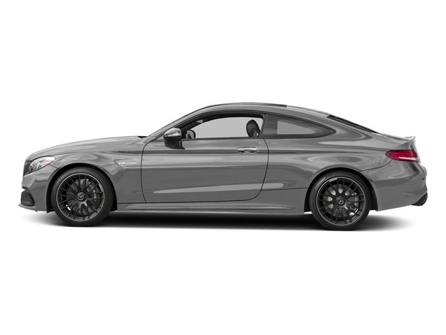 designo Iridium Silver Mango (Matte Finish) 2017 Mercedes-Benz C-Class Pictures C-Class AMG C 63 Coupe photos side view