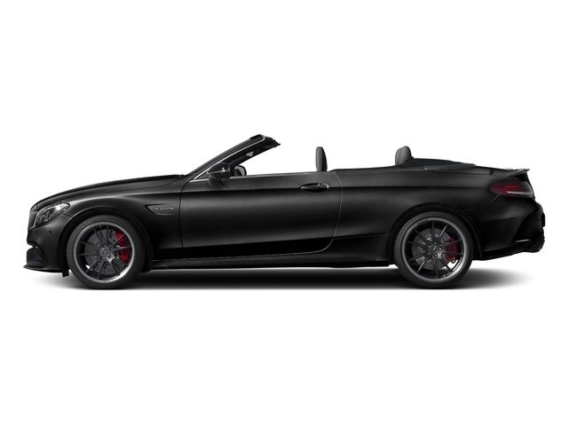 Obsidian Black Metallic 2017 Mercedes-Benz C-Class Pictures C-Class Convertible 2D C63 AMG S V6 Turbo photos side view
