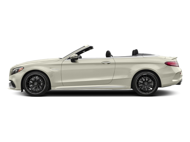 Polar White 2017 Mercedes-Benz C-Class Pictures C-Class AMG C 63 Cabriolet photos side view