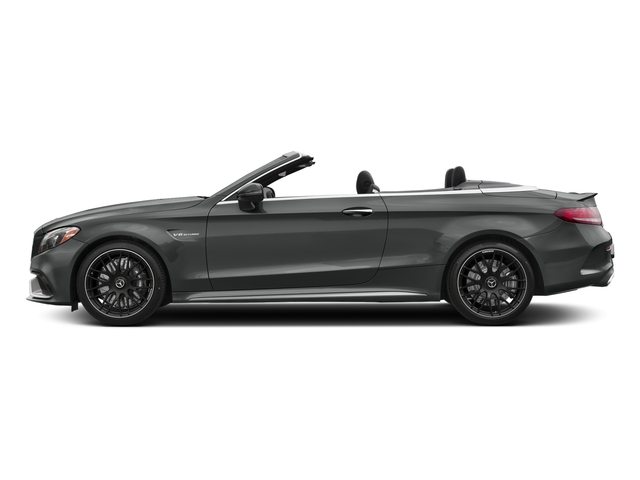 Selenite Grey Metallic 2017 Mercedes-Benz C-Class Pictures C-Class Convertible 2D C63 AMG V6 Turbo photos side view