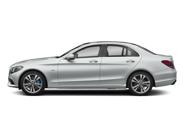 Iridium Silver Metallic 2017 Mercedes-Benz C-Class Pictures C-Class C 350e Sedan photos side view