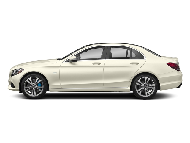 designo Diamond White Metallic 2017 Mercedes-Benz C-Class Pictures C-Class C 350e Sedan photos side view