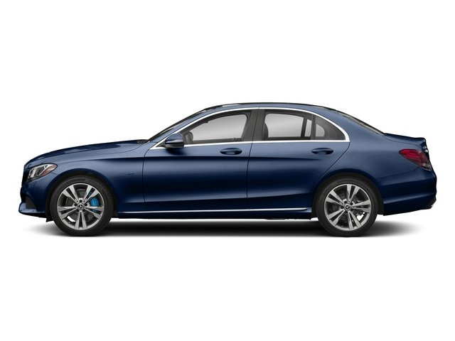 Brilliant Blue Metallic 2017 Mercedes-Benz C-Class Pictures C-Class C 350e Sedan photos side view