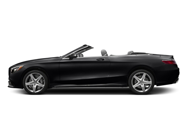 Black 2017 Mercedes-Benz S-Class Pictures S-Class AMG S 63 4MATIC Cabriolet photos side view