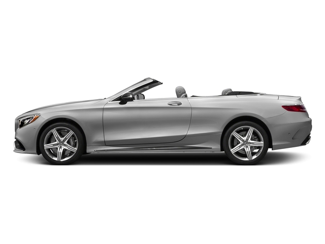 designo Magno Alanite Grey (Matte Finish) 2017 Mercedes-Benz S-Class Pictures S-Class AMG S 63 4MATIC Cabriolet photos side view