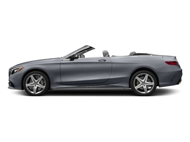 AMG Alubeam Silver 2017 Mercedes-Benz S-Class Pictures S-Class AMG S 63 4MATIC Cabriolet photos side view