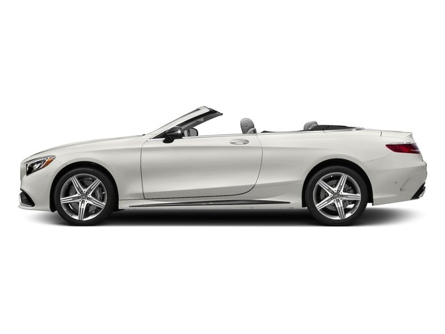 designo Magno Cashmere White (Matte Finish) 2017 Mercedes-Benz S-Class Pictures S-Class AMG S 63 4MATIC Cabriolet photos side view