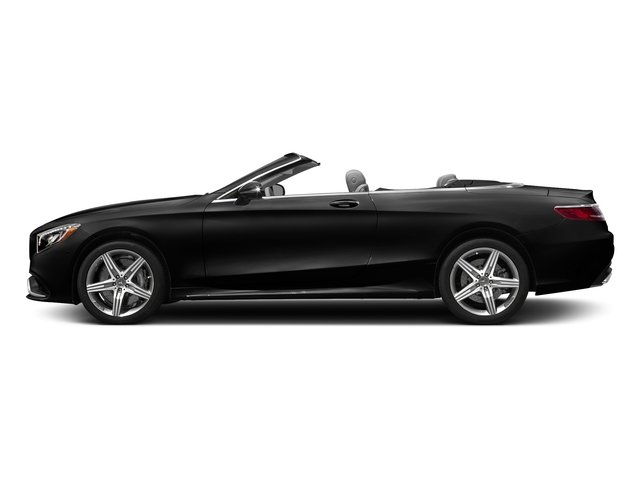 Obsidian Black Metallic 2017 Mercedes-Benz S-Class Pictures S-Class AMG S 63 4MATIC Cabriolet photos side view