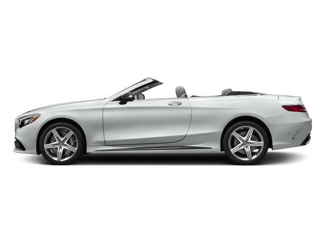 Iridium Silver Metallic 2017 Mercedes-Benz S-Class Pictures S-Class AMG S 63 4MATIC Cabriolet photos side view
