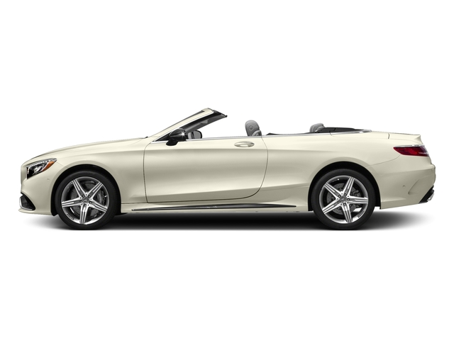 designo Diamond White Metallic 2017 Mercedes-Benz S-Class Pictures S-Class AMG S 63 4MATIC Cabriolet photos side view