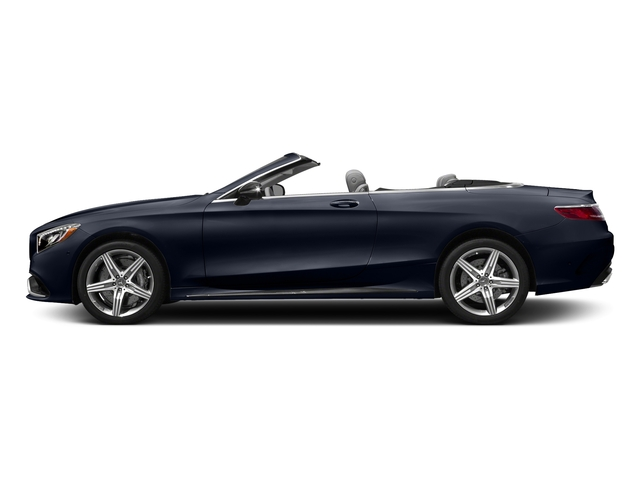 Lunar Blue Metallic 2017 Mercedes-Benz S-Class Pictures S-Class AMG S 63 4MATIC Cabriolet photos side view