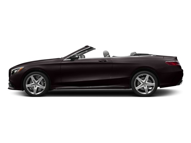 Ruby Black Metallic 2017 Mercedes-Benz S-Class Pictures S-Class AMG S 63 4MATIC Cabriolet photos side view