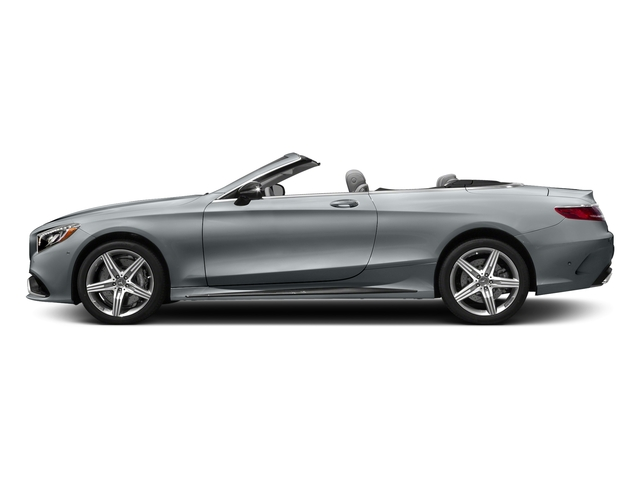 Diamond Silver Metallic 2017 Mercedes-Benz S-Class Pictures S-Class AMG S 63 4MATIC Cabriolet photos side view