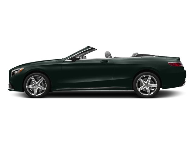 Emerald Green Metallic 2017 Mercedes-Benz S-Class Pictures S-Class AMG S 63 4MATIC Cabriolet photos side view