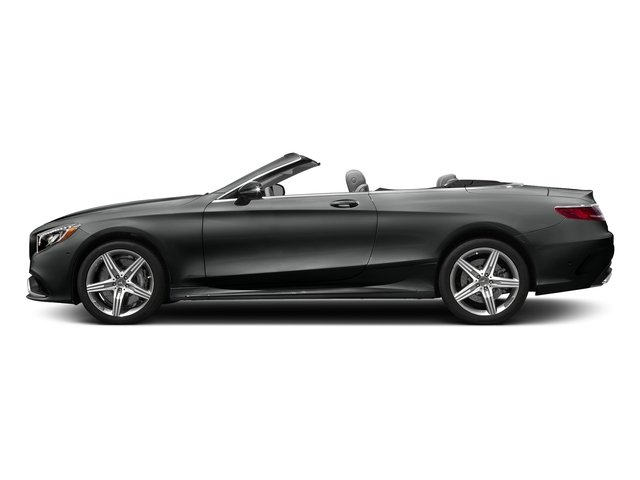 Selenite Grey Metallic 2017 Mercedes-Benz S-Class Pictures S-Class AMG S 63 4MATIC Cabriolet photos side view