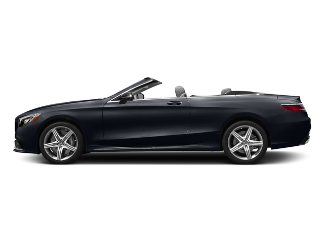 Anthracite Blue Metallic 2017 Mercedes-Benz S-Class Pictures S-Class AMG S 63 4MATIC Cabriolet photos side view