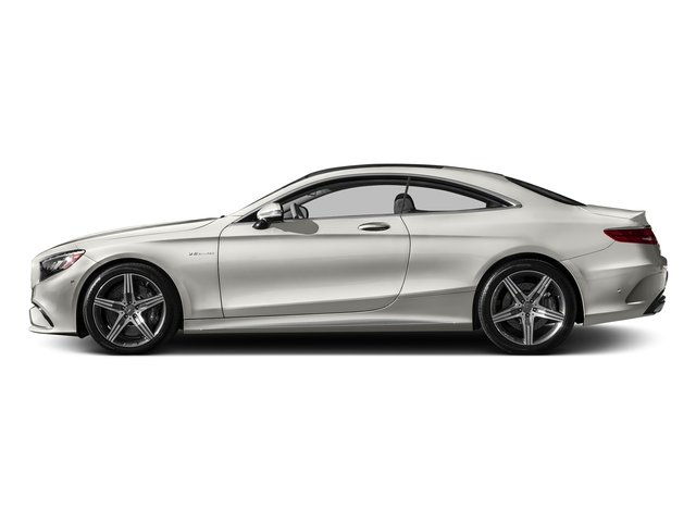 designo Magno Cashmere White (Matte Finish) 2017 Mercedes-Benz S-Class Pictures S-Class AMG S 63 4MATIC Coupe photos side view