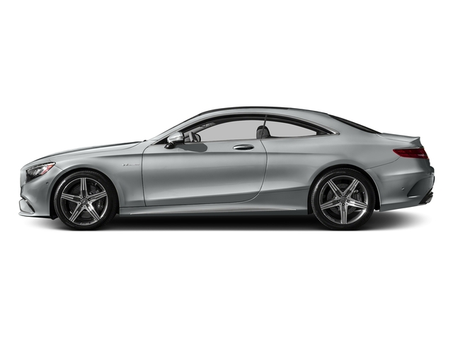 Iridium Silver Metallic 2017 Mercedes-Benz S-Class Pictures S-Class Coupe 2D S63 AMG AWD V8 Turbo photos side view