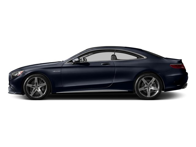 Lunar Blue Metallic 2017 Mercedes-Benz S-Class Pictures S-Class AMG S 63 4MATIC Coupe photos side view