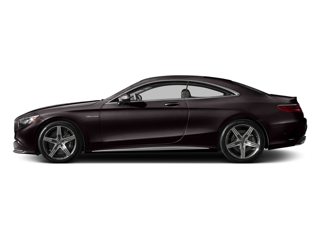Ruby Black Metallic 2017 Mercedes-Benz S-Class Pictures S-Class AMG S 63 4MATIC Coupe photos side view
