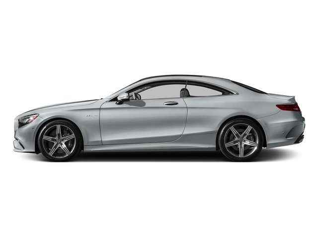 Diamond Silver Metallic 2017 Mercedes-Benz S-Class Pictures S-Class AMG S 63 4MATIC Coupe photos side view