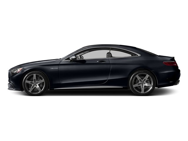 Anthracite Blue Metallic 2017 Mercedes-Benz S-Class Pictures S-Class AMG S 63 4MATIC Coupe photos side view