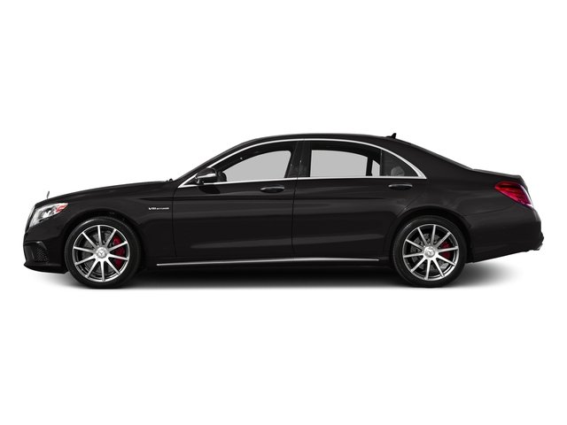 designo Mocha Black 2017 Mercedes-Benz S-Class Pictures S-Class AMG S 63 4MATIC Sedan photos side view