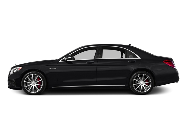 Black 2017 Mercedes-Benz S-Class Pictures S-Class AMG S 63 4MATIC Sedan photos side view